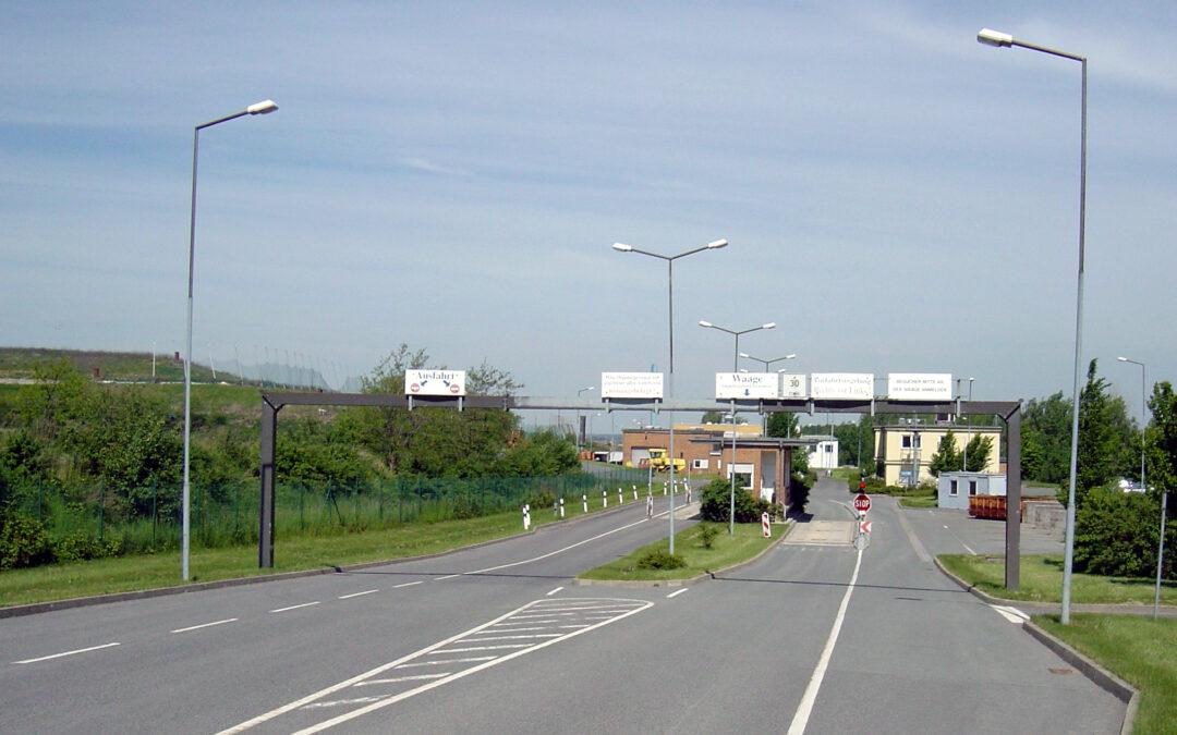 Einschränkungen in der Annahme Deponie Kunnersdorf